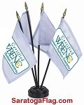 ..Custom DESK FLAGS- 4x6inch Digital Print